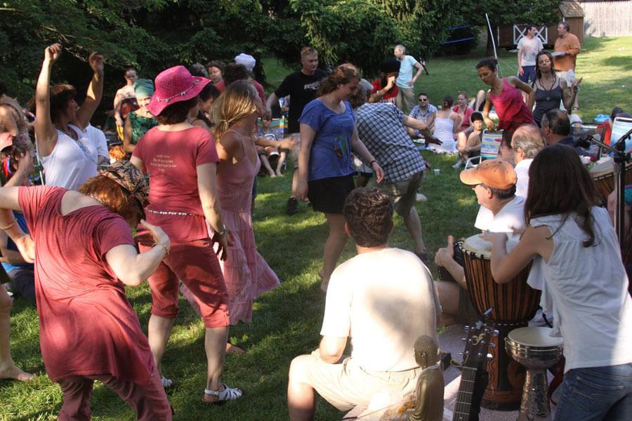 Khalsa Healing community gathering